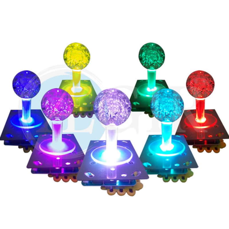 Comando Joystick Led Multicores